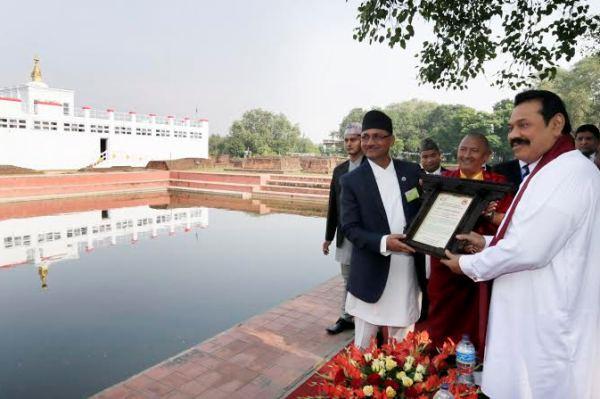 Rajapaksa-Visits-Lumbini