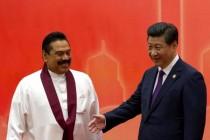 Chinese President Xi Jinping - Sri Lanka President  Mahinda