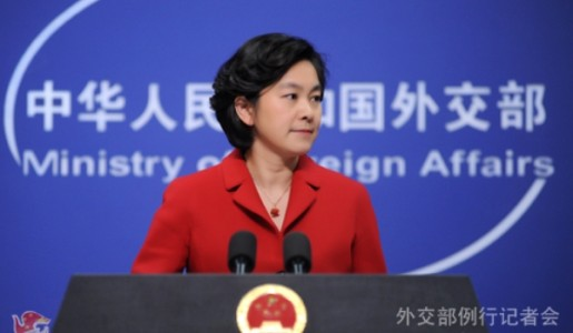 Chinese Foreign Ministry spokesperson, Hua Chunying