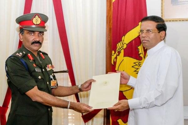 Major General Crishantha De Silva-maithri