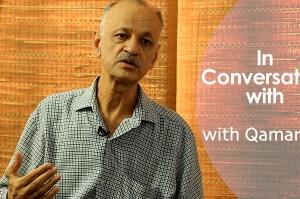 Indian Defence expert Qamar Agha