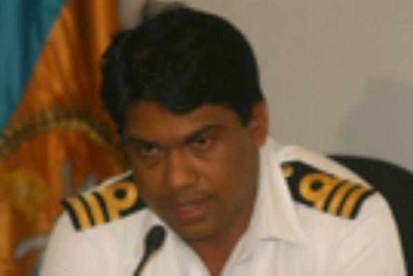 commander D K P Dassanayake