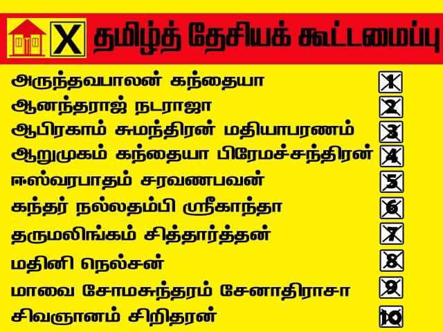 tna-jaffna-candidates