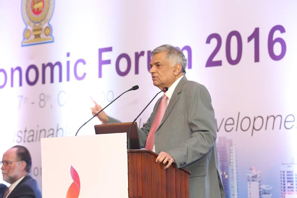 ranil-economic forum (1)
