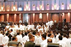 parliament-clash
