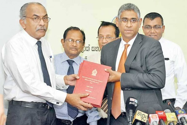 Delimitation report handed over