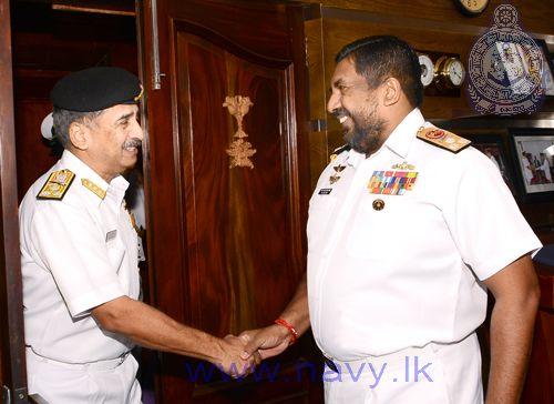 Vice Admiral DM Deshpande -lanka