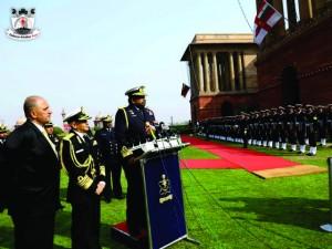 Vice Admiral RC Wijegunaratne -delhi