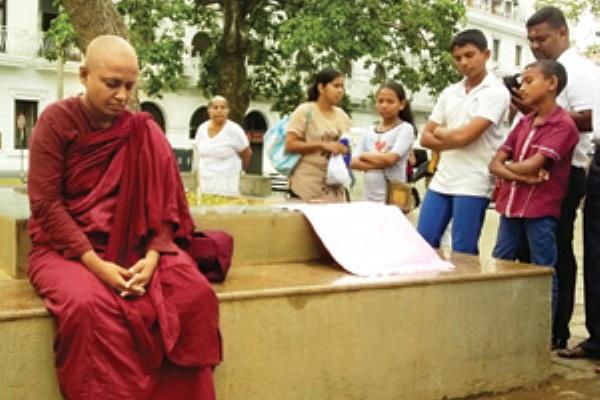 fasting monk