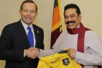 Tony Abbott - Mahinda Rajapaksa