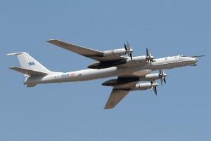 Tu-142M long-range maritime patrol aircraft