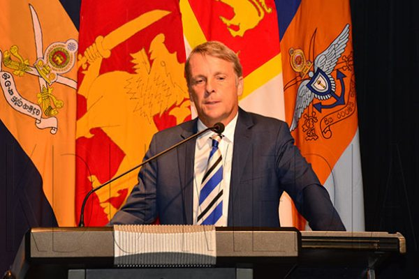 German Ambassador to Sri Lankan Jorn Rohde