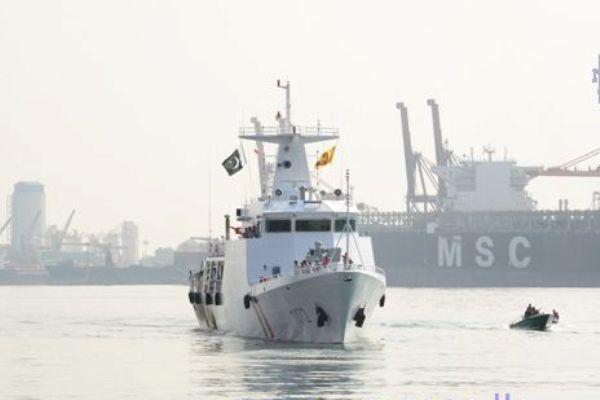 Pakistan naval ship PMSS Dasht