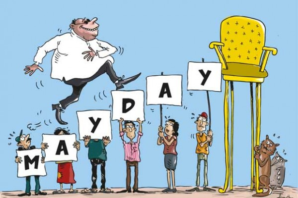 mayday cartoon