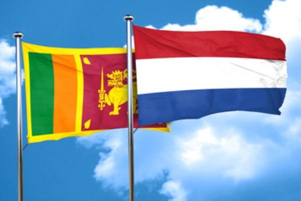 netherland- srilanka flags