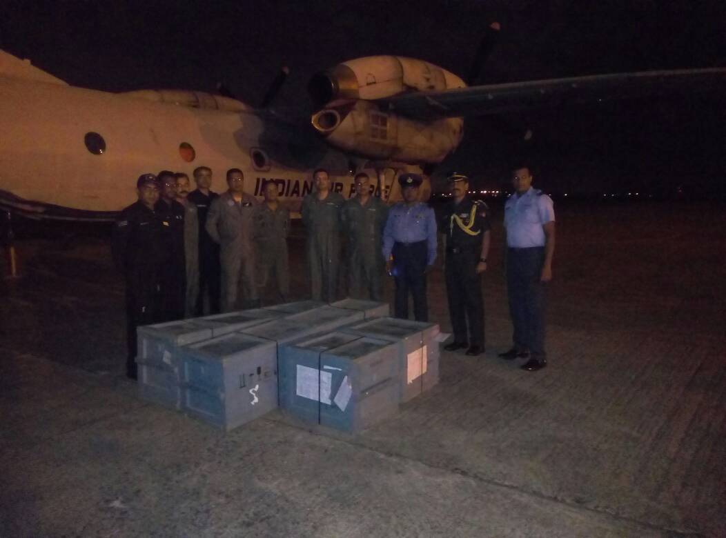 indian airforce spare parts to slaf