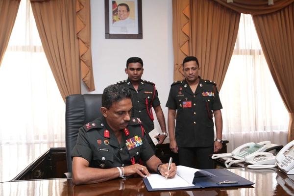 Major General Amal Karunasekara assumed office (1)