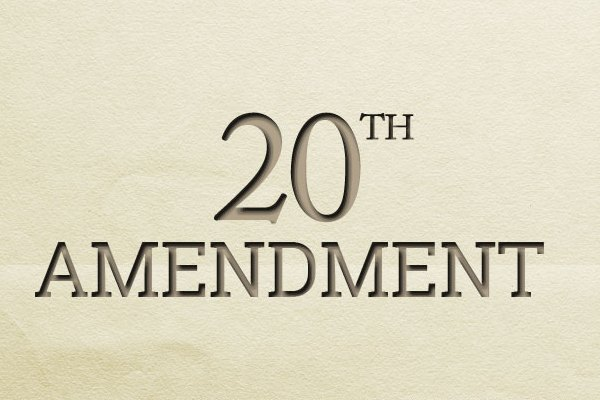 20th-amendment