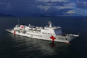 Chinese hospital ship Ark Peace