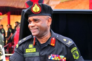 Lieutenant General Mahesh Senanayake