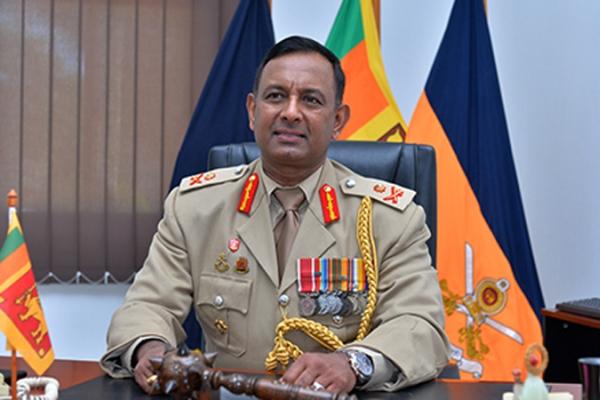 Major General Dampath Fernando