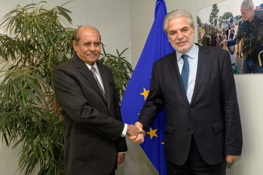 European Commissioner Christos Stylianides -tilak