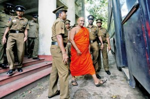 Akmeemana Dayarathana Thera arrested