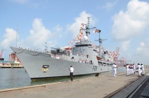 Bangladesh naval ship Somudra Avijan