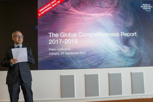 Global Competitiveness Report 2017–2018