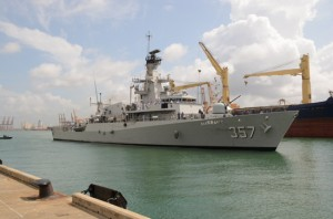 Indonesian Naval Ship KRI Bung Tomo