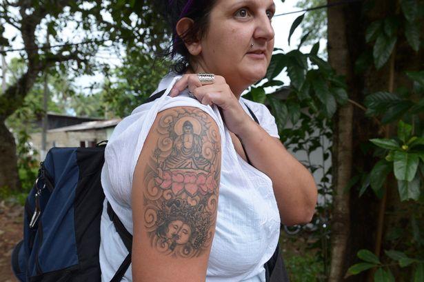 Buddha-Tattoo