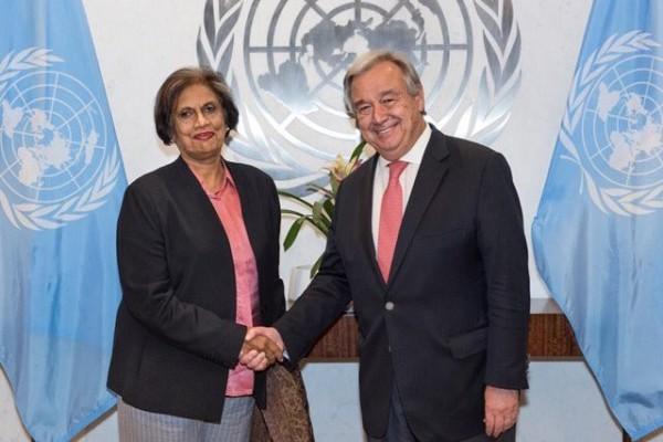 CBK calls on UN Chief