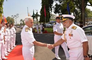 Vice Admiral Sirimevan Ranasinghe visit India