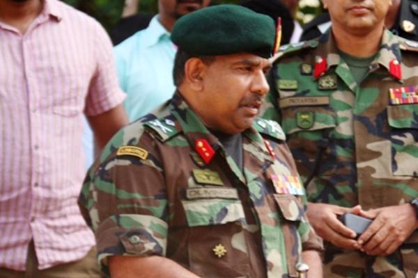 Maj.general duminda keppetiwalana