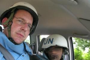 former UN staffer Benjamin Dix