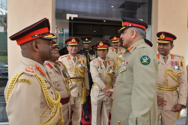 pakistan-army chief-colombo