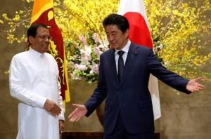 Shinzo Abe -Maithripala Sirisena